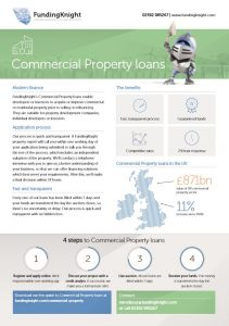 product sheet commercial property